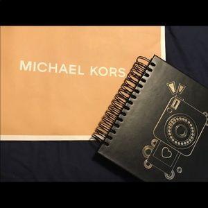 New Michael Kors scrapbook photo book notebook